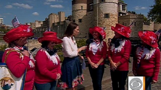 American tourists excited about royal wedding