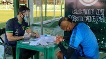Goiás faz testes de Covid em dois laboratórios antes de viagem; presidente defende jogadores