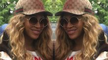 Beyoncé Wore Head to Toe Gucci to Watch Jay Z and Solange Perform