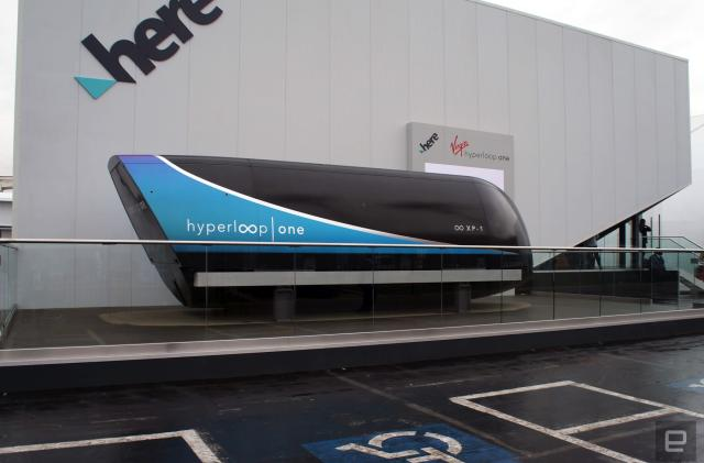 A closer look at the Hyperloop One test pod
