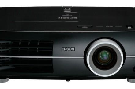Epson's EH-TW5500 and EH-TW4400 flagship projectors seen hanging out with high contrast blacks, Germans