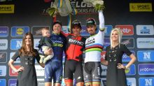 In-form Van Avermaet wins 3rd cobbled classic this year
