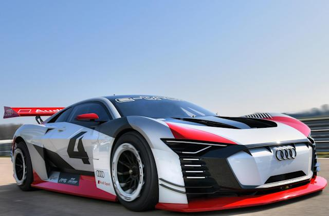 Audi's real-life 'Gran Turismo' car will race at Formula E