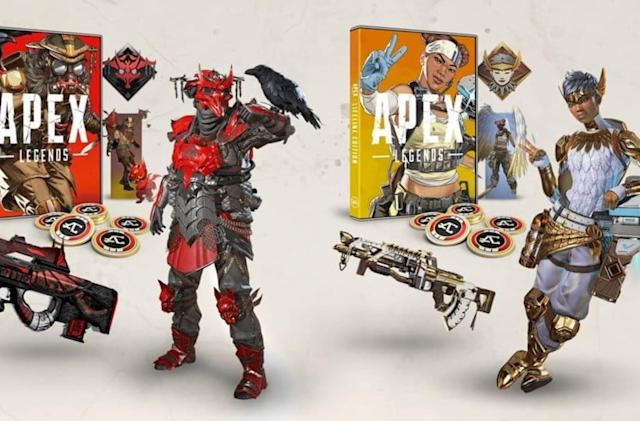 'Apex Legends' is getting physical editions with exclusive cosmetics