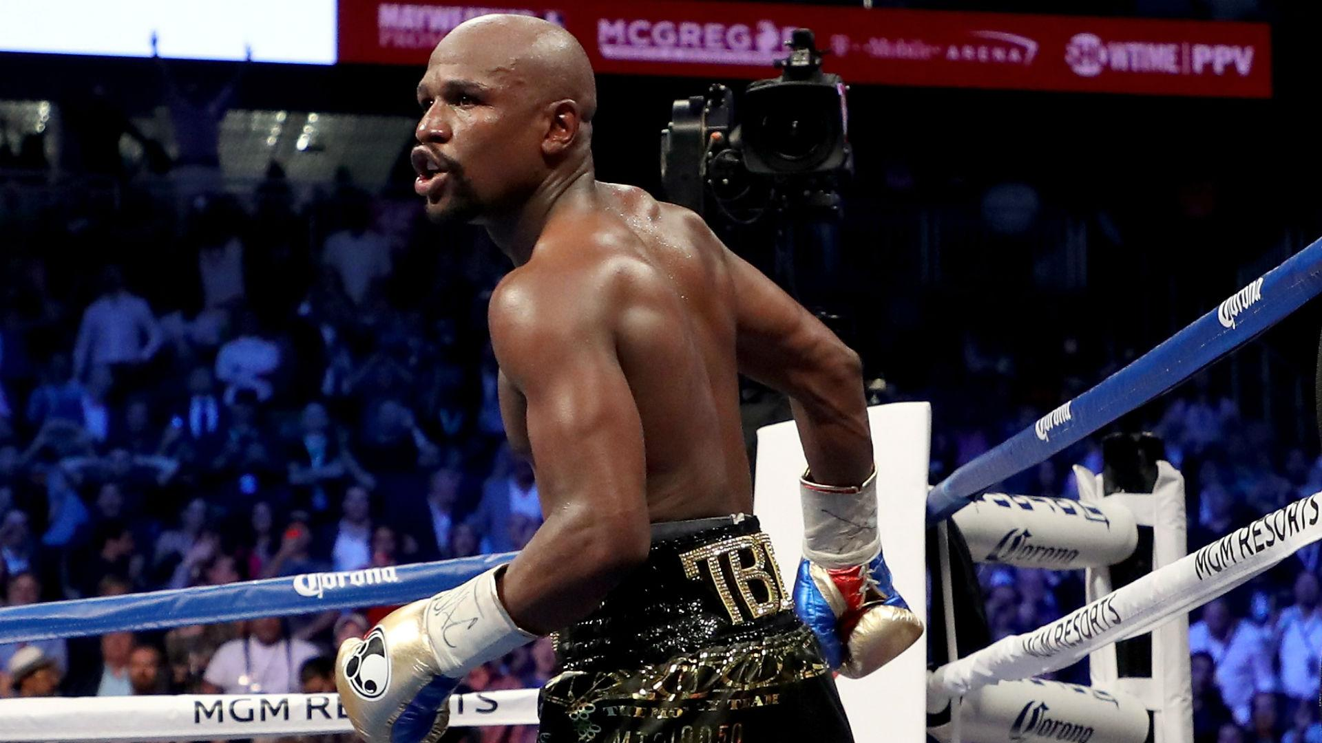 Get the chequebook out! - Mayweather talks up potential Khabib clash