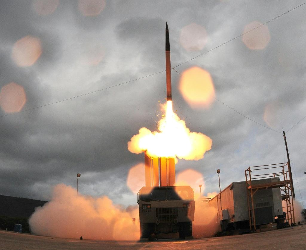 The Terminal High Altitude Area Defense (THAAD) system was introduced in 2008