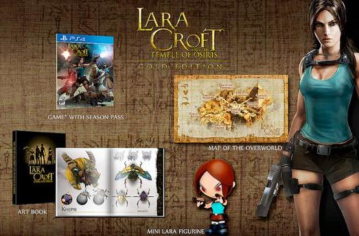 Lara Croft discovers Temple of Osiris Gold Edition