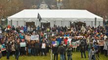 U.S. to dismiss charges against 129 people in Trump inaugural protests