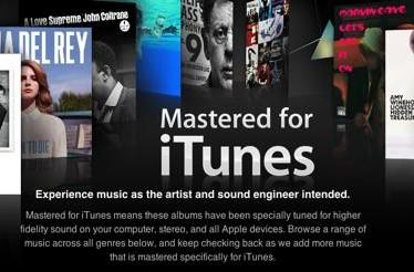 Apple introduces Mastered For iTunes tracks