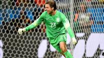 Netherlands' goalkeeper gamble pays off