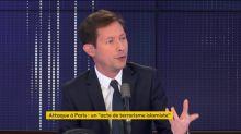 """Attaque à Paris : """"Il faut protéger toutes les cibles"""", demande l'eurodéputé LR François-Xavier Bellamy"""