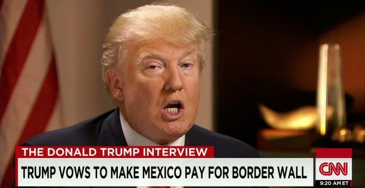 Why Mexico paying for Trump's 'wall' never actually made sense