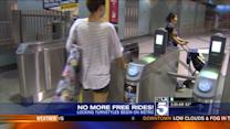 Subway Freeloader Crackdown