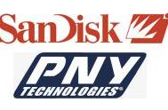 SanDisk and PNY make nice, settle patent lawsuit
