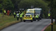 Schoolgirl, 14, killed after minibus carrying pupils on school trip involved in 'serious' crash