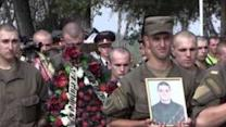 National Guardsmen Mourn Soldiers Killed in Kiev Blast