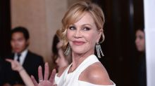 Melanie Griffith Posts Makeup-Free Selfie Showing Final Stage of Skin Cancer Removal From Nose