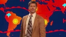 WATCH: Brad Pitt returns as gloomy weatherman and predicts Armageddon
