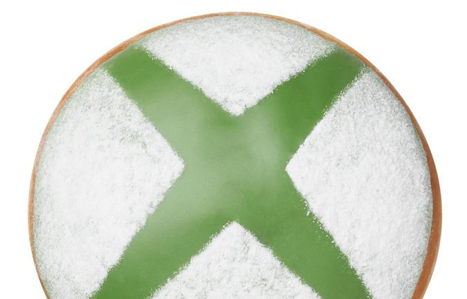 The Krispy Kreme Nexus Level Xbox donut.