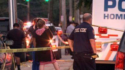 Teen arrested in deadly stabbing filmed by dozens