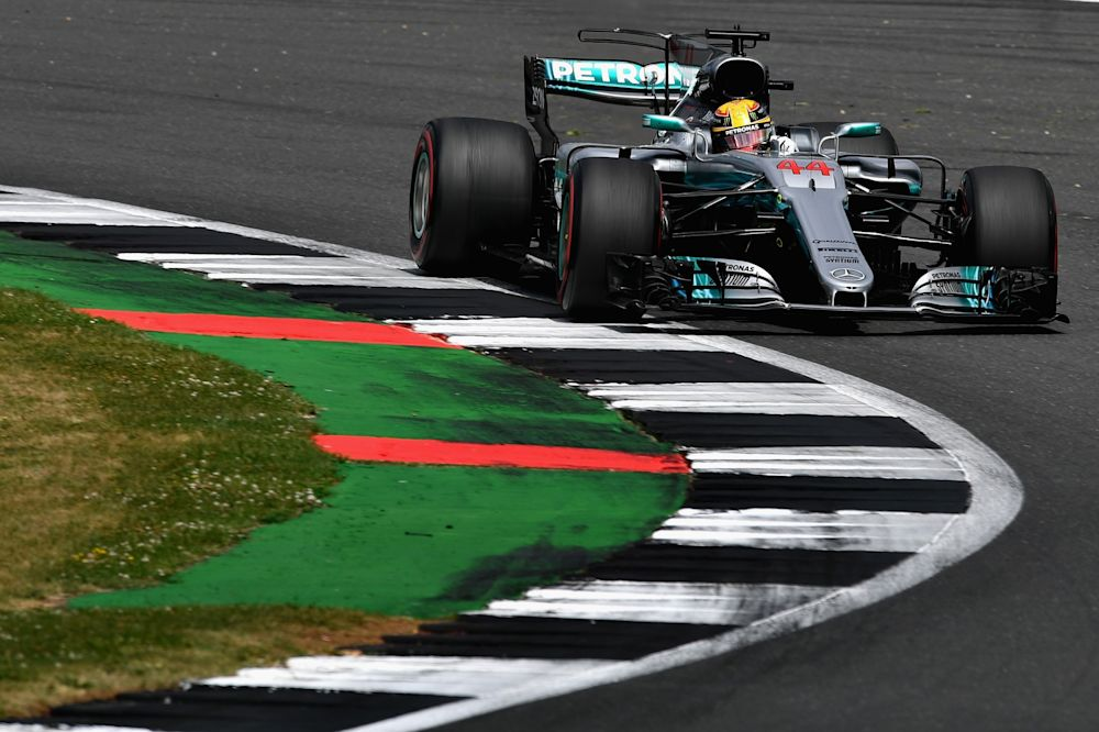 Lewis Hamilton led from start to finish at Silverstone