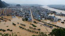 Más de 30 ríos chinos marcan el nivel máximo histórico en época de inundaciones