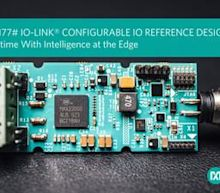 Maxim Integrated's IO-Link Communications Technology Reduces Factory Downtime