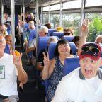 Cruise passengers scatter, take Cambodia bus tours despite virus fears