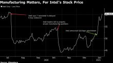 Intel Tumbles After New CEO Recommits to Chip Manufacturing