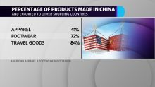 'Prices go up, sales go down, jobs get lost:' Apparel trade group CEO sounds alarm on tariffs