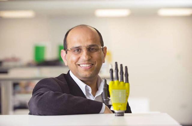 Artificial skin with solar cells could power prosthetics