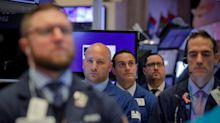 US STOCKS-S&P 500 notches record, shakes off Cisco's gloomy outlook