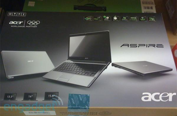 Acer Aspire Timeline found in the wild, chilling in Canada and up for pre-order in UK