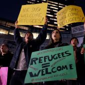 US meets goal of admitting 10,000 Syria refugees ahead of time