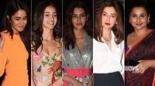 BEST DRESSED & WORST DRESSED At Ali Abbas Zafar's Birthday Bash: Katrina Kaif, Ananya Panday, Kriti Sanon, Gauahar Khan Or Vidya Balan?