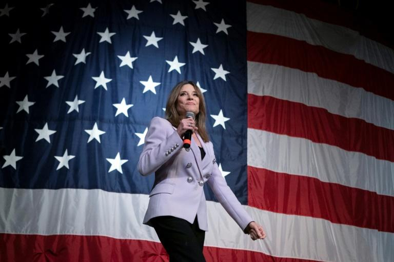 American spirtualist author and self-improvement advocate Marianne Williamson ended her improbable run for the Democratic presidential nomination on January 10, 2020 after calling for more compassion in politics