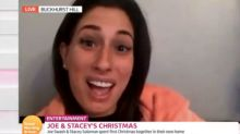 Stacey Solomon jokingly calls out Joe Swash over X-rated bedroom claims