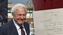 Sir David Attenborough's 'special' act for Australian charity