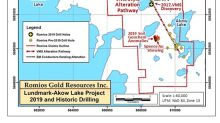 ROMIOS Drilling Intersects Large Red Lake Type Carbonate Veins and Expands Its Gold Discovery on Its Lundmark-Akow Lake Project in NW Ontario