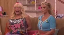 Britney Spears and Jimmy Fallon channel their inner teenage girl for 'Ew!'