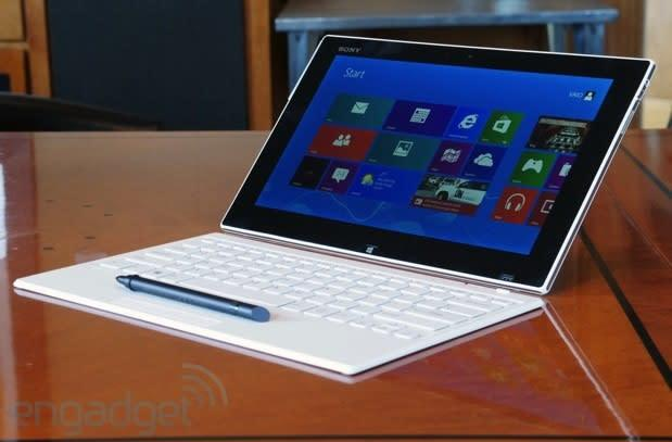 Sony takes on the Surface Pro with the VAIO Tap 11, its first Windows 8 tablet (hands-on)