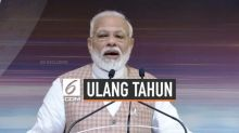 VIDEO: Ulang Tahun PM India Narendra Modi jadi Trending di Medsos