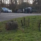 Witnesses describe Prince Philip's state immediately after car crash