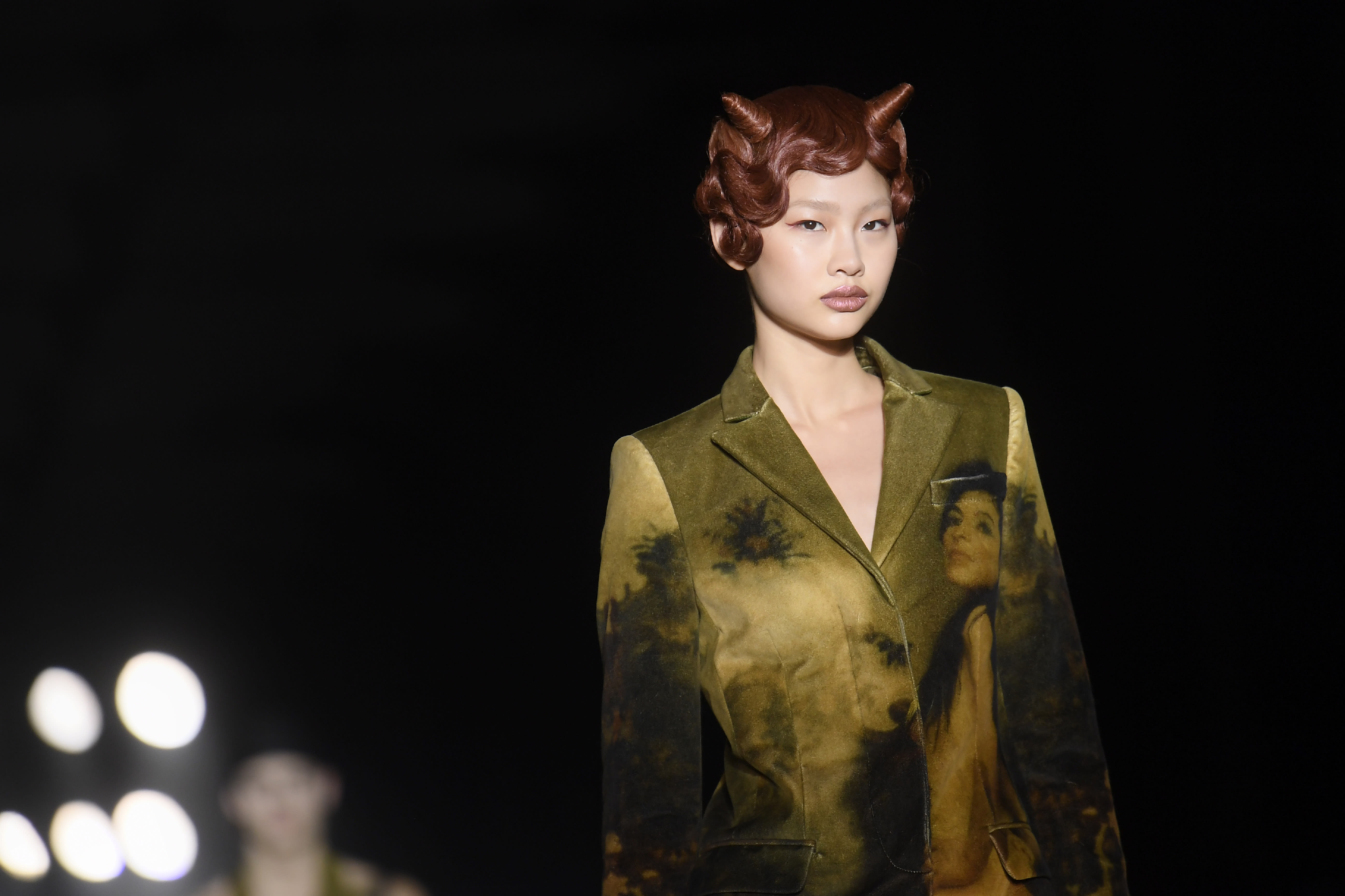 Fashion Week Fall 09   MAC Face Charts - 2.17.09   Behnaz