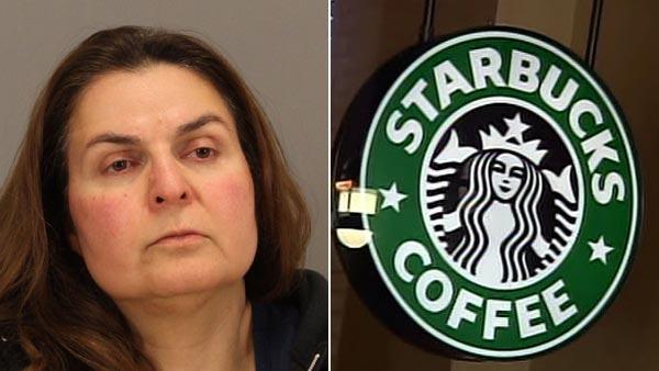 Woman arrested after tainted juice left at Starbucks