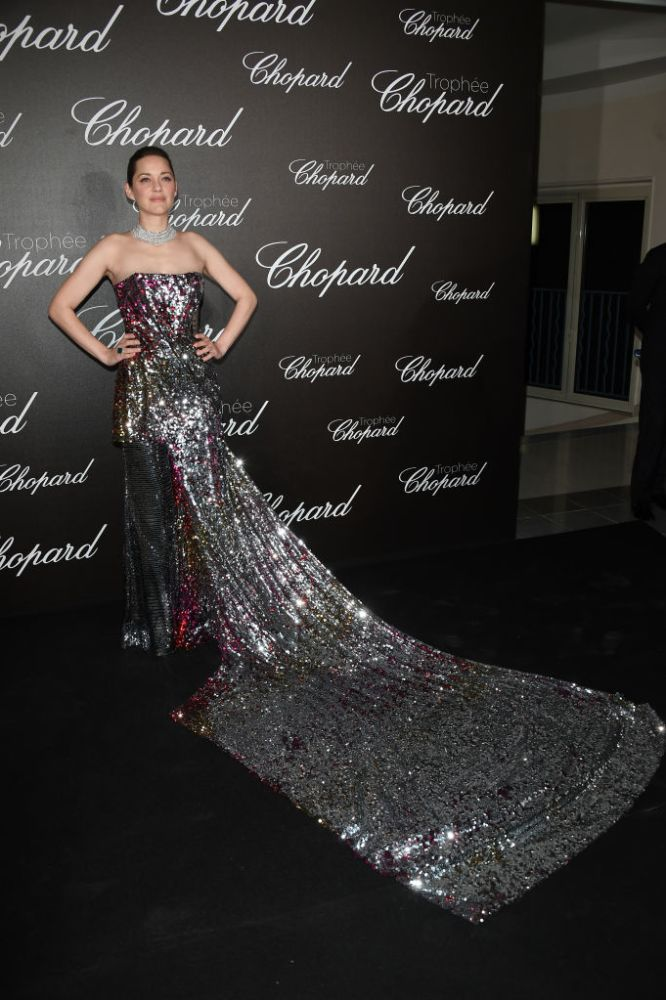 Marion Cotillard brought the glam in Halpern.
