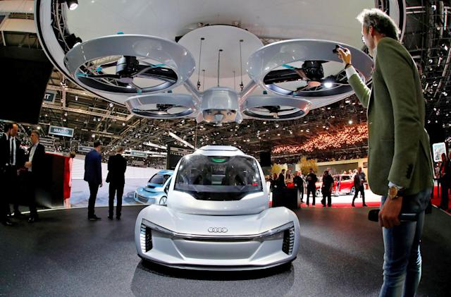 Germany plans to test Airbus and Audi's flying taxi concept
