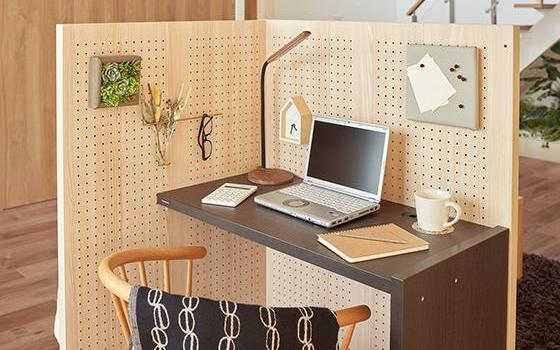 Panasonic's work-from-home cubicle