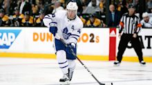 Rielly returns to Game 7 after taking Chara slapper off mouth