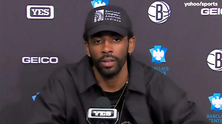 Kyrie Irving explains why Kobe Bryant should be on the NBA logo